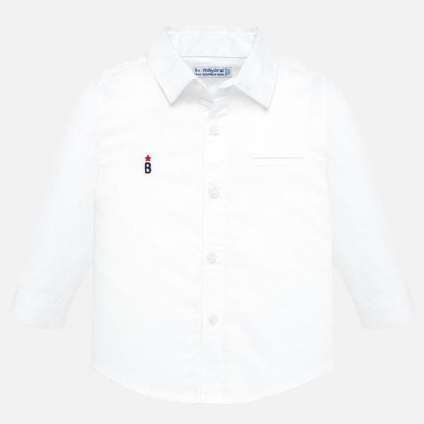 Риза с принт мотор